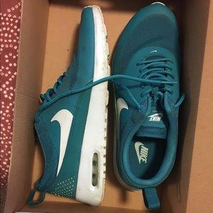 Nike air max Thea teal blue size 8