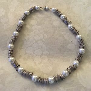 Jewelry - Pearl and Silver Necklace
