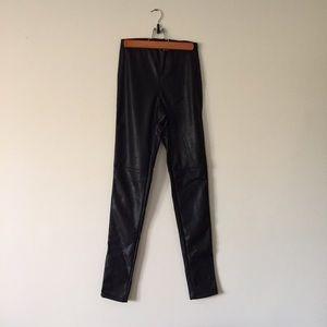Divided Pants - PANTS SALE❤️Super skinny high rise pleather pants
