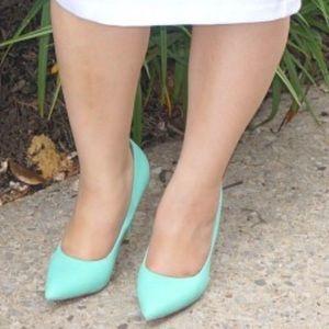 lolashoetique Shoes - Mint green pumps