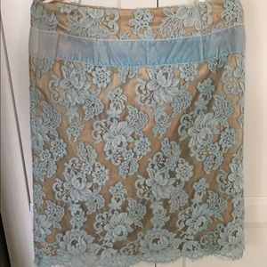 Tracy Reese Lace Overlay Skirt BABY SHOWER