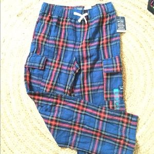 Children's Place Other - Lounge pants Plaid Boys size 14. New with tags