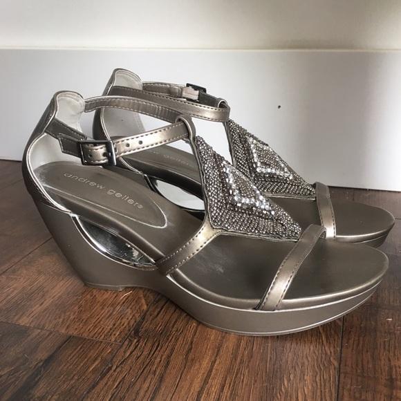 50 Off Andrew Geller Shoes Andrew Geller Abalynn Beaded