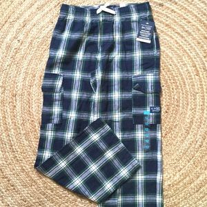 Children's Place Other - Lounge pants Green Plaid boys size 14 New tags