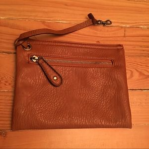 Merona Handbags - Congac Brown Wristlet