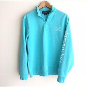 Vineyard Vines Other - Vineyard Vines Aqua Blue Pullover Shep Sweatshirt