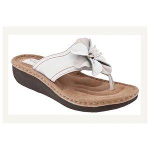 Clarks Shoes - Clarks Latin Samba white size 7
