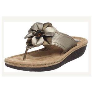 Clarks Shoes - Clarks Latin Samba in dark pewter size 7