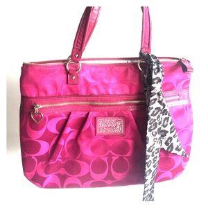 Coach Handbags - Coach, never been used, tote handbag