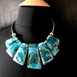 Jewelry - Host Pick 🎉 Turquoise Collar and Earring Set