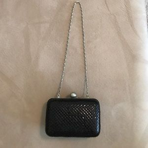 Style & Co Handbags - Chained clutch!