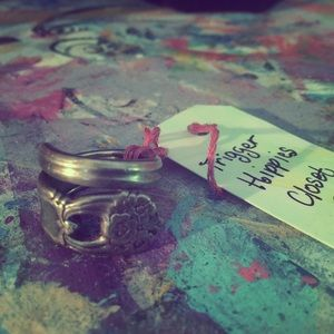 Trigger Hippie Jewelry - Vintage spoon ring