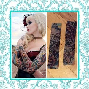Accessories - 🍒cool temporary tattoo sleeve slip on rockabilly