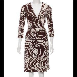 """Diane von Furstenberg """"Vintage"""" Julian silk dress"""