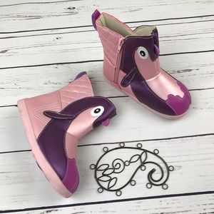 Zooligans Other - NWOB Zooligan Penguin Boots Girls 11