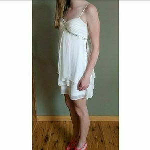 Hailey Logan Dresses & Skirts - White Homecoming Dress