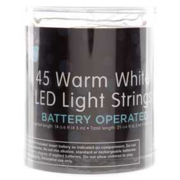 Does Hobby Lobby Sell String Lights : 50% off hobby lobby Other - LED Battery Operated Warm White Light Strings from Briley s closet ...
