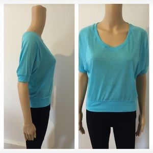 Tops - NEW Sky Blue Knit Top