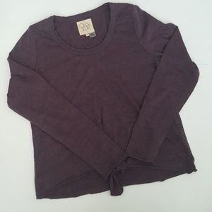 Chaser Tops - Chaser Purple Lightweight Long Sleeve Shirt