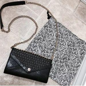 Rebecca Minkoff Handbags - REBECCA MINKOFF BLACK STUDDED CROSSBODY BAG