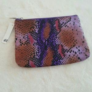 NWT snakeskin small bag