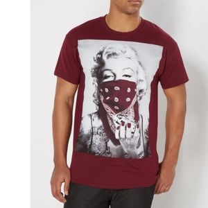 Other - BNWT Marilyn Men's Bandana Tee 😍