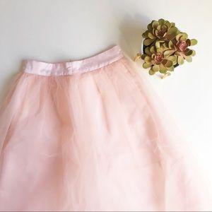Shabby Apple Dresses & Skirts - shabby apple blush tulle skirt