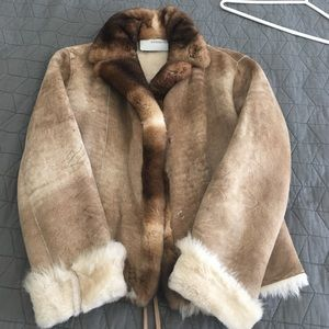 Ermanno Scervino Jackets & Blazers - Shearling Coat