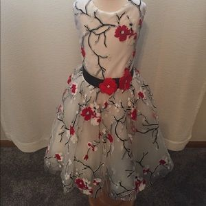 Zoe Ltd Other - Zoe Ltd Girls Sleeveless Flower Dress Size 12