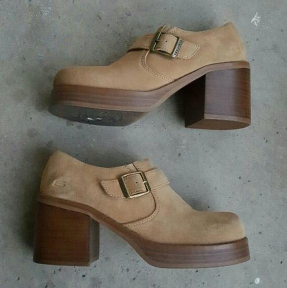 48982c93042 Vintage skechers platform shoes. M 5900d972eaf0307ef202206f