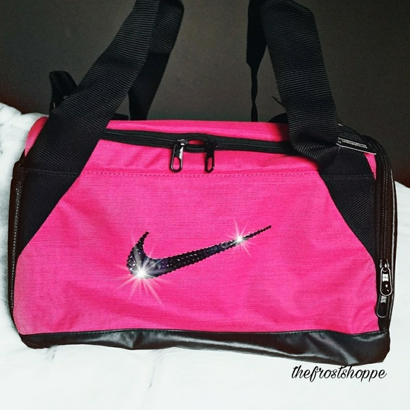 d3541078d0 Swarovski Bling Nike Brasilia 6 Duffle Gym Bag. NWT. Nike.  M_5900dad2680278f14202123c. M_5900dacabcd4a71933022348.  M_5900dad456b2d61fcc0211e3