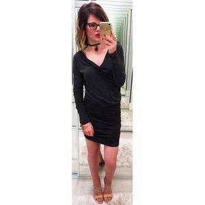 Velvet Dresses & Skirts - ➡Velvet Gray Blouson Dress⬅