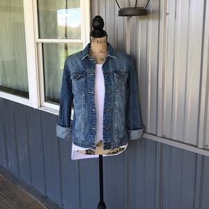 JustFab Jackets & Blazers - JustFab Denim Jacket