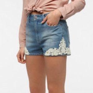 "Urban Outfitters Denim - BDG High Rise ""Erin"" Shorts"