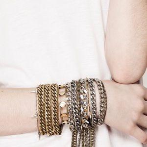 Jenny Bird Jewelry - Jenny Bird always hustlin bracelet in gold $125