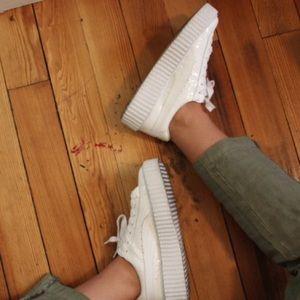Rihanna Shoes - white Rihanna x fenty puma creeps