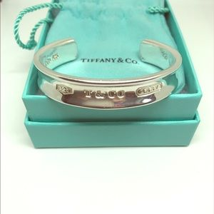 🌹SOLD🌹Authentic Tiffany & Co. 1837 Cuff Bracelet