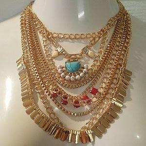 Jewelry - Bohemian Statement necklace #4