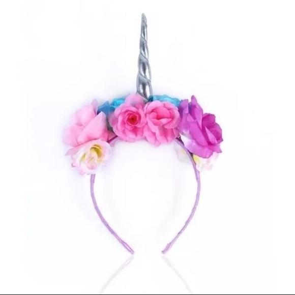 Tarte Unicorn Horn and Flowers Headband 0e6f177d5b3