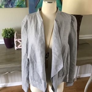 LOFT Jackets & Blazers - Loft chambray blazer