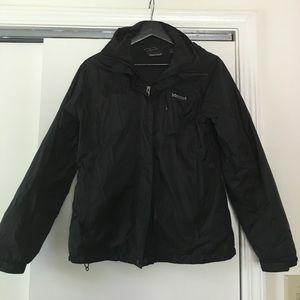 Marmot Jackets & Blazers - Marmot black jacket with hood