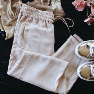 H&M Pants - NWT- H&M Pastel Pink Trousers