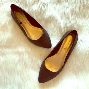 Christian Siriano Shoes - Black Flats