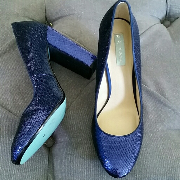 60 off betsey johnson shoes betsey johnson sparkly blue