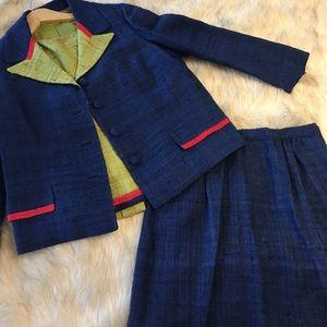 Vintage 3-piece Mod Dress Suit