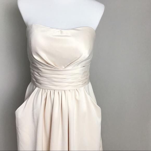 00e7f8dc8e Bill Levkoff Knee Length Diva  579 Strapless Dress