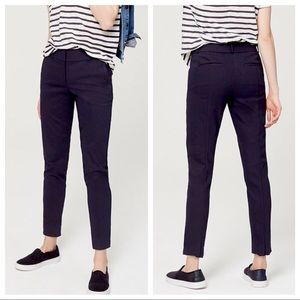 Navy Loft Outlet Modern Skinny Ankle Pants 8P