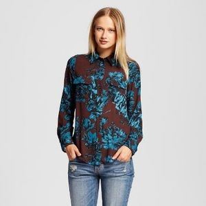 Who What Wear Tops - 🆕 Who What Wear Floral Blouse