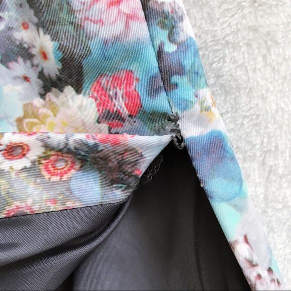 50 h m dresses skirts h m floral digital print