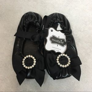 Mud Pie Other - ⚡️SALE Mudpie NWT black ballet flats